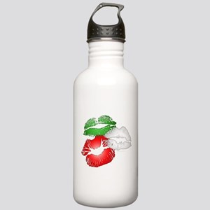 Italian Kissing Lips Stainless Water Bottle 1.0L