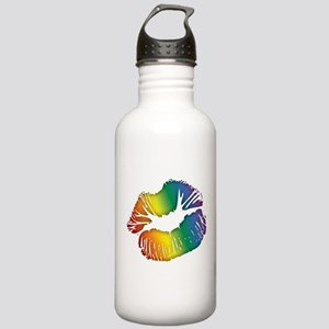 Big Rainbow Lips Stainless Water Bottle 1.0L