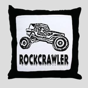 Rock Crawler Throw Pillow