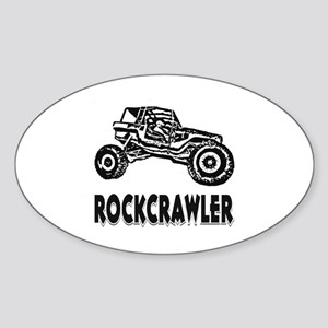 Rock Crawler Sticker (Oval)