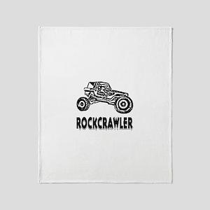 Rock Crawler Throw Blanket