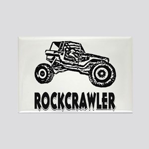 Rock Crawler Rectangle Magnet