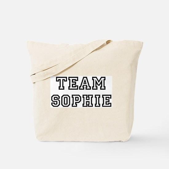 Team Sophie Tote Bag