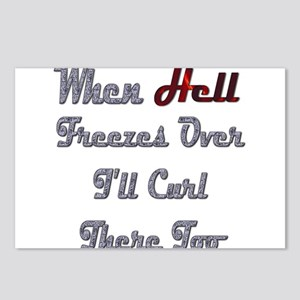 When Hell Freezes Over 2 Postcards (Package of 8)