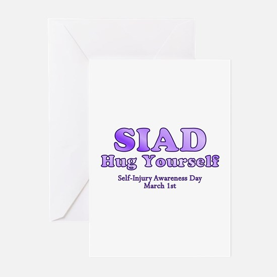 Self Injury Awareness Day Greeting Cards (Package