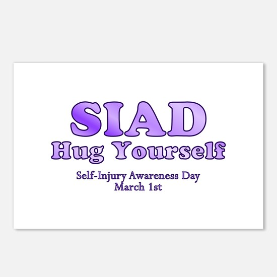 Self Injury Awareness Day Postcards (Package of 8)