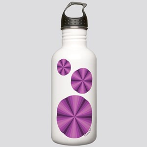 Purple Illusion Stainless Water Bottle 1.0L