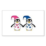 Two Cute Penguins Sticker (50 Pk)