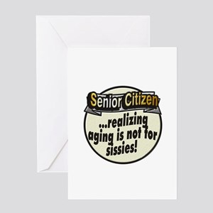 Not for sissies ~ Greeting Card