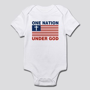 One Nation Under GOD Infant Bodysuit