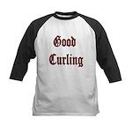 Good Curling Kids Baseball Jersey