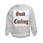 Good Curling Kids Sweatshirt