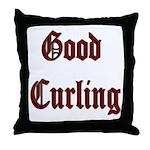 Good Curling Throw Pillow