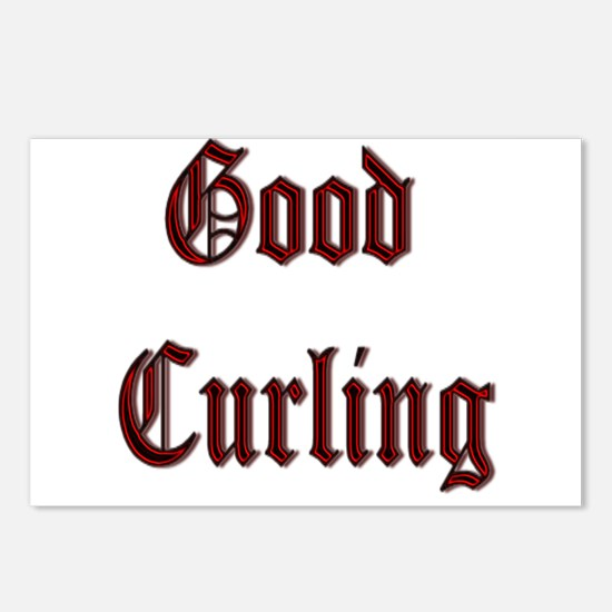 Good Curling Postcards (Package of 8)