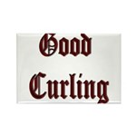 Good Curling Rectangle Magnet (100 pack)