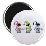 "Three Cute Baby Penguins 2.25"" Magnet (100 Pk"