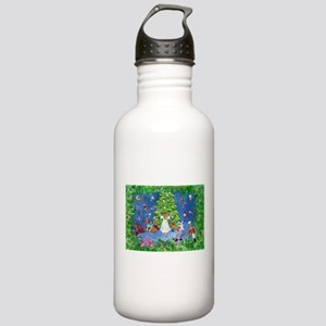 Nutcracker Christmas Ballet Stainless Water Bottle