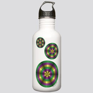 Mardi Gras Illusion Stainless Water Bottle 1.0L