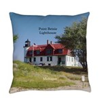 Point Betsie Lighthouse Everyday Pillow