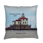 Ashtabula Harbor Light Everyday Pillow