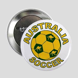"""Australia Soccer New 2.25"""" Button"""