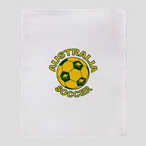 Australia Soccer New Throw Blanket