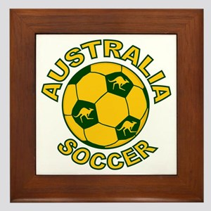 Australia Soccer New Framed Tile