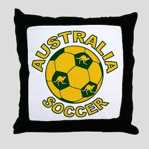 Australia Soccer New Throw Pillow