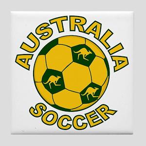 Australia Soccer New Tile Coaster