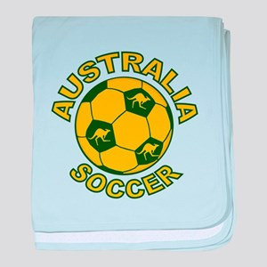 Australia Soccer New Infant Blanket