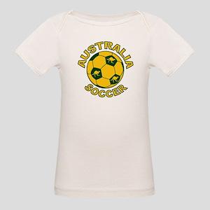 Australia Soccer New Organic Baby T-Shirt