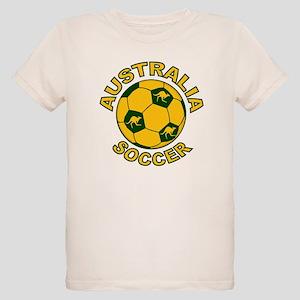 Australia Soccer New Organic Kids T-Shirt