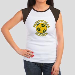 Australia Soccer New Women's Cap Sleeve T-Shirt