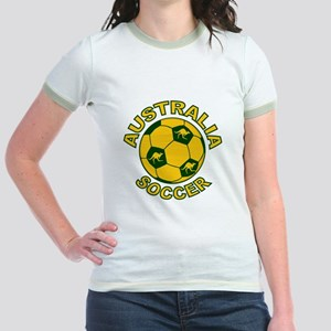 Australia Soccer New Jr. Ringer T-Shirt