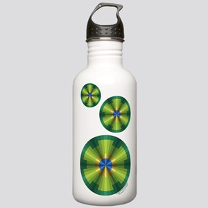 Peacock Illusion Stainless Water Bottle 1.0L