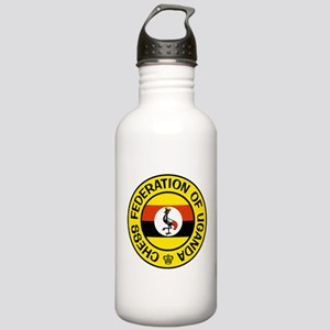 Chess Federation of Uganda Stainless Water Bottle