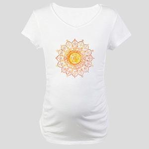 Decorative Sun Maternity T-Shirt