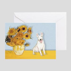 Sunflowers / Bully #4 Greeting Card