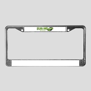 Sublime 1009 License Plate Frame