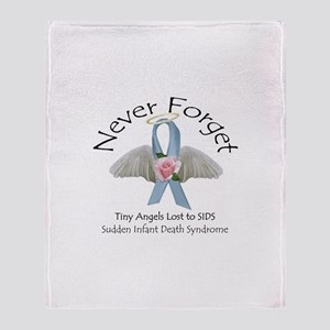 Never Forget Throw Blanket