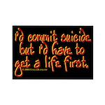 Suicide Rectangle Magnet