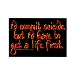 Suicide Rectangle Magnet (10 pack)