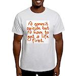 Suicide Ash Grey T-Shirt
