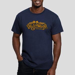 Deadwood Saloon Men's Fitted T-Shirt (dark)