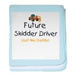Future Skidder Driver Infant Blanket