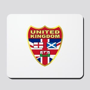 UK Badge Mousepad