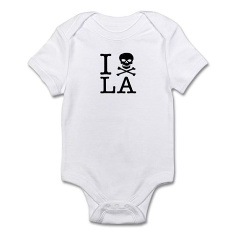"The ""I Hate LA"" series Infant Bodysuit"
