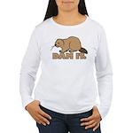 Dam It. Women's Long Sleeve T-Shirt