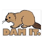 Dam It. Postcards (Package of 8)