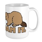 Dam It. Large Mug